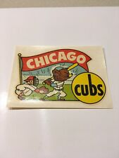 Vintage 1950s Chicago Cubs Decal