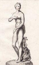 Gravure XVIIIe Vénus De Medicis Aphrodite Venus de' Medici  Venere 1780