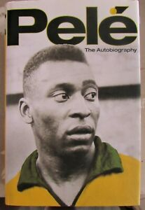Football book The Autobiography of PELE signed