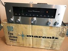 Marantz 10B FM Stereo Tube Tuner Excellent with Original Box & Amperex Tube