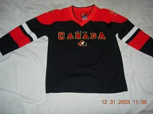 TEAM CANADA Child sz5 Jersey by NIKE,AWESOME!! PERSONALIZE NAME/NUMBER,$37 MORE