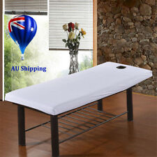 190 x70cm Beauty Massage Bed Table Elastic Cover Salon Spa Couch Cotton Sheet MN