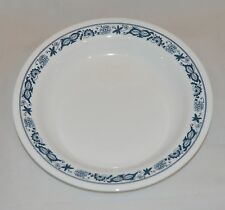 8 New Corelle Old Town Blue Flat Rimmed  Soup Salad Bowl 15oz