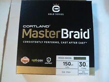 1- Box Cortland Master Braid 150 Yds Spool 30 Lb Test Nip