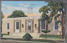 Post Office Lakewood New Jersey Stamped 1942 # 172