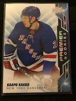 19-20 UD Premier Kaapo Kakko Silver Spectrum Premier Rookies