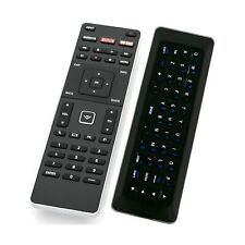 XRT500 Qwerty Keyboard Remote Control with Backlight Compatible with Vizio TV...