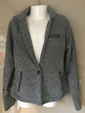 Scotch R'belle Blazer Sweat Strickjacke Gr. 8/128 mit Nieten