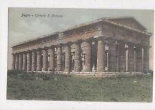 Pesto Tempio di Nettuno Vintage Postcard 866a