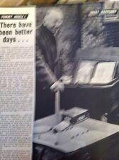 L1-6 Ephemera 1959 Article Tommy Noble Ex Boxer Market Trader