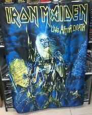 IRON MAIDEN Live After Death FLAG CLOTH POSTER WALL TAPESTRY BANNER CD Metal