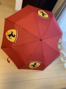 Ferrari Folding Umbrella Red