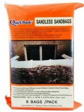 "Sandless Sand Bags - High Capacity 22""x14"" 6-Pack"