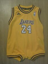 More details for kobe bryant los angeles lakers infant adidas baby 24m 24 months one piece jersey