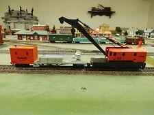 Amtrak Ho Work Crane and Work Caboose