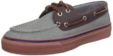 Sperry Top-Sider Mens Bahama 2-Eye Heavy Canvas Leather Boat Deck Shoes SIZE 7