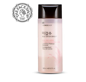 [The Face Shop] Rice Water Bright Lip & Eye Remover 120ml x 2EA / Free Sample!!