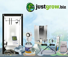 Komplettset Growset 100x100x200cm 400 W Wuchs und Blüte + Abluft Set NDL Growbox