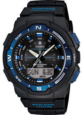 Casio Twin Sensor Watch, Compass, Thermometer, 5 Alarms, World Time, SGW500H-2BV
