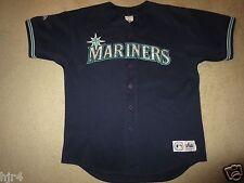 Ken Griffey Jr. #24 Seattle Mariners Majestic MLB Jersey XL Rookie