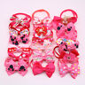 Pet Puppy Dog Cat Bowties Mixed Styles for Female Small Dogs Adjustable Bow Tie