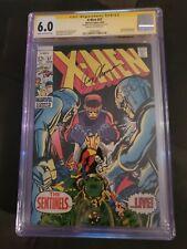 X-men 57 CGC Signature Series 6.0 Roy Thomas Early Sentinels