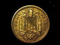 1 peseta 1947 estrella 48 F- a VF+
