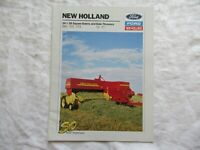1990 Ford New Holland  565 570 575  square balers  72 77 bale throwers brochure