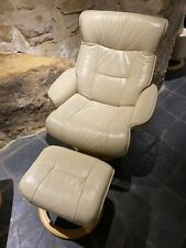 Moran Leather recliner