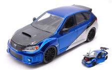 Brian's Subaru Impreza Sti Fast & Furious Blue / Silver 1:24 Model JADA TOYS