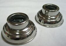 1938 - 1947 Ford Pickup Truck Door Window Escutcheons Stainless PAIR