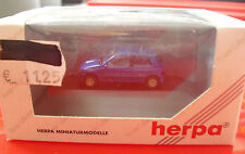 Herpa Private Collection HO 1/87 Dark Blue Renault Clio 2L Williams Car NIP