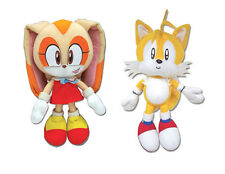 GE Sonic Plush Doll Set of 2 - Cream the Rabbit & Tails