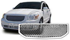 Dodge Caliber chrome mesh grille bentley grille full replacement trim 07-2009