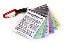 for CANON DSLR CHEAT SHEET CARDS All Models T7i T6i T6 T5i SL1 M5 80D 77D 70D 7D