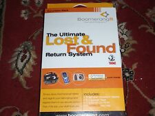 Boomerang It Ultimate Lost & Found Return System - New & Unopened
