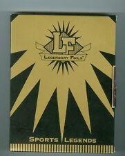 Legendary Foils Sports Legends Hockey 1993 Set 4 Bossy Mahovlich Schmidt Dumart