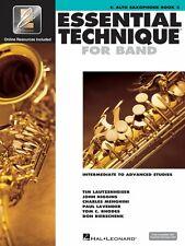 Essential Technique for Band Intermediate to Advanced Studies Eb Alto 000862623