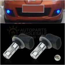 2x 881 Blue COB High Power 7.5W For Car Fog light Driving LED Bulbs