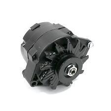 Alternator BLACK GM 12 volt 110amp Chevy 71-86 V-Belt GM 1 or 3 wire 350 454 305