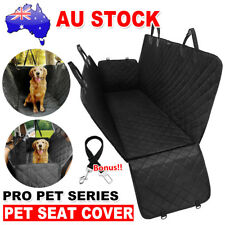 Waterproof Pet Dog Car Seat Cover Nonslip Hammock Mat For Truck SUV Back Seat aw
