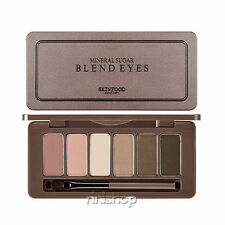 [SKINFOOD] Mineral Sugar Blend Eyes 1.5g * 6color #1.Berry Chiffon Rinishop (A)