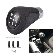 Black Car SUV Manual 5 Speed Gear Stick Shift Knob Cover Handle Shifter Lever