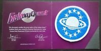 5 PATCH LOT GALAXY QUEST PROP REPLICA EMBLEM LOOT CRATE EXCLUSIVE MOC SCI-FI NEW