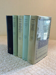 PLATONIS OPERA Recognovit Brevique (5 Vol. Set) by Plato - 1985 - Greek Text