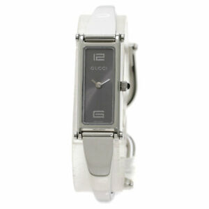 GUCCI Square face Watches 1500L Stainless Steel/Stainless Steel Ladies