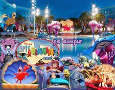 Florida Disney ART OF ANIMATION RESORT - Little Mermaid - Flexible Fridge Magnet