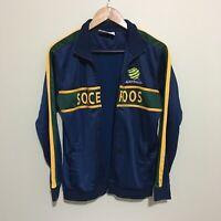 Australia Socceroos Soccer Football Track Jacket Mens Medium - Read Description