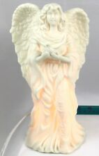 Jade Porcelain Light-Up Angel with peace dove Night Light, Christmas, Easter