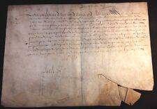 KING LOUIS XIII AUTOGRAPH - DECEMBER, 31, 1623  LOUIS XIII König von Frankreich